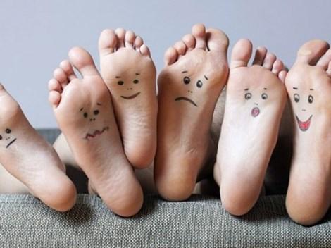 Bàn chân thông báo về sức khỏe của bạn