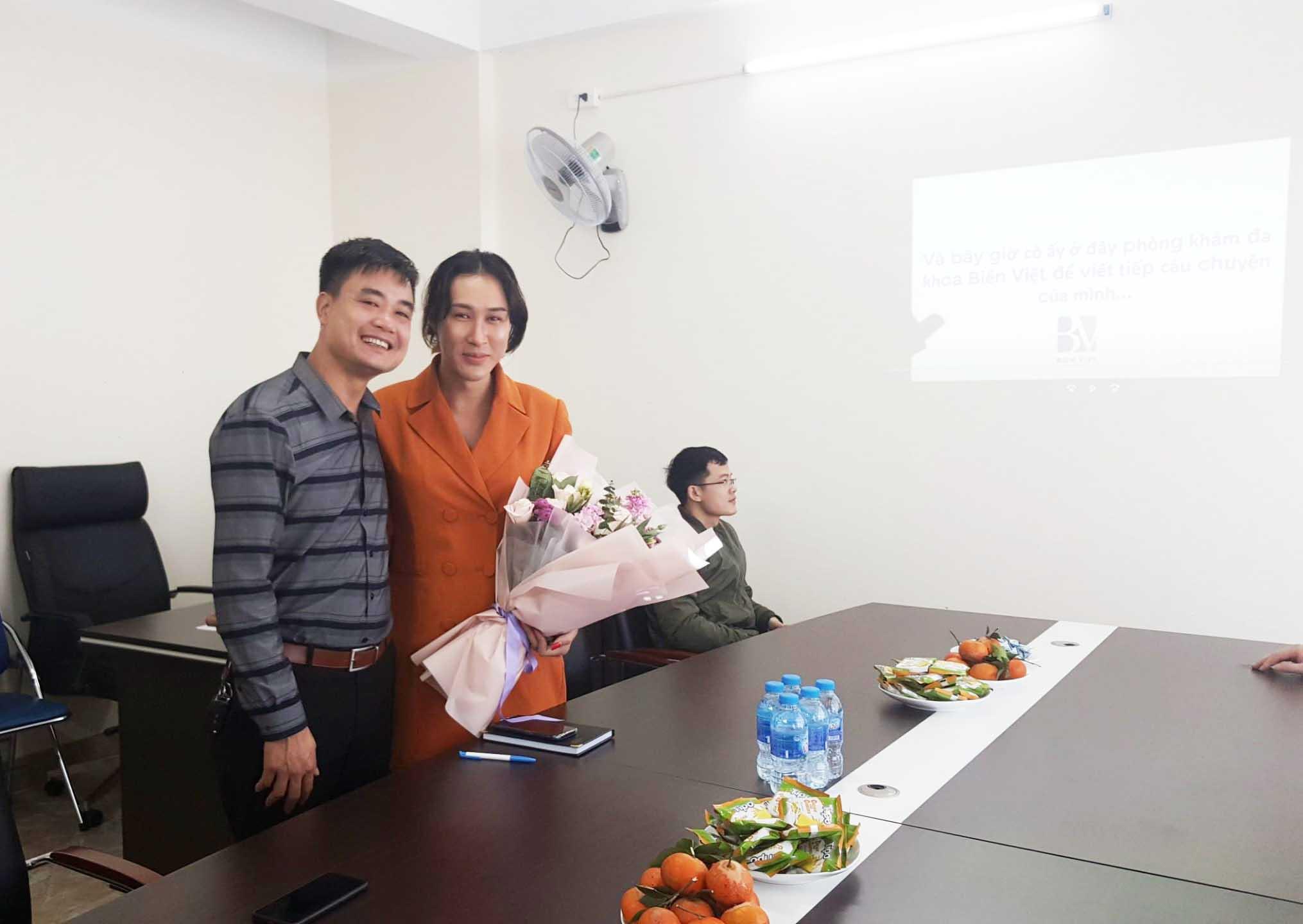 Chào mừng Vũ Hoàng Mai Châu (Đại diện mạng lưới người chuyển giới tại Việt Nam,