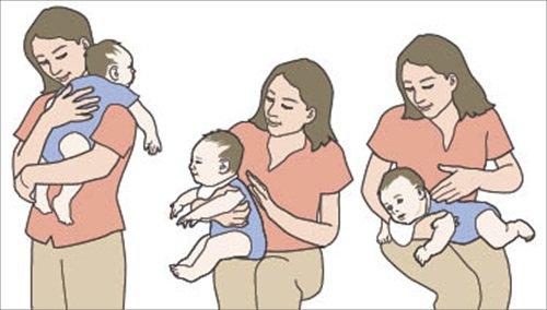 Hướng dẫn cách phụ huynh vỗ ợ hơi đúng cách cho trẻ