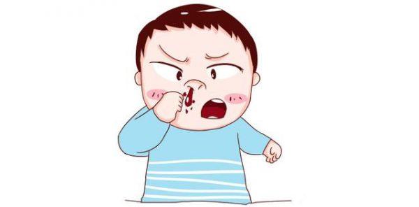 Những nguyên nhân gây chảy máu cam ở trẻ