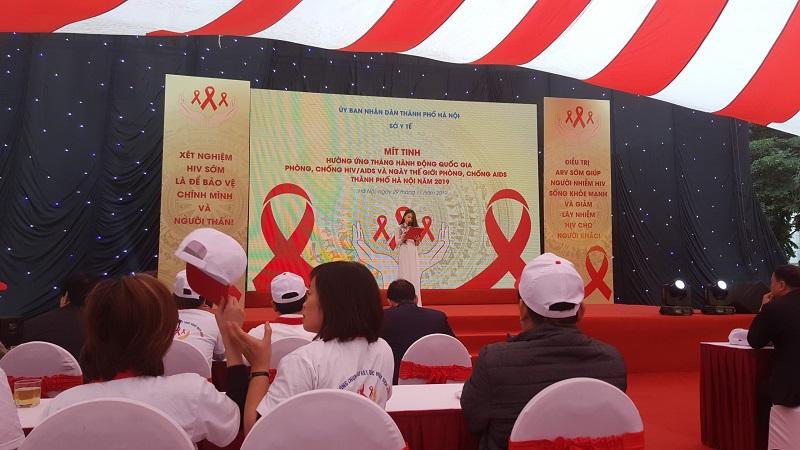 Phòng khám đa khoa Biển Việt hưởng ứng ngày thế giới phòng chống AIDS
