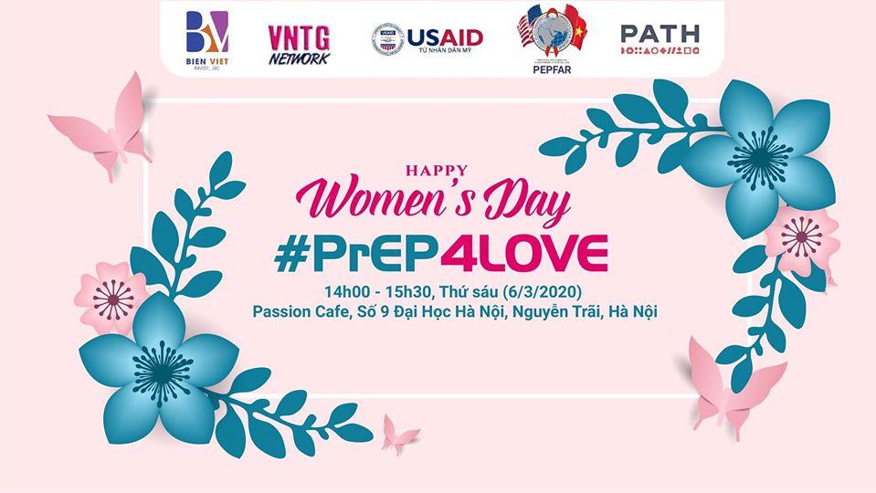 """Sự kiện """"PrEP – Happy Women Day"""" PrEP 4LOVE"""